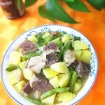 牛肉炖土豆芸豆