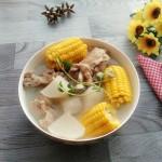 萝卜玉米筒骨汤