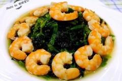 菠菜恋上虾