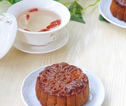 百合莲子蛋黄月饼