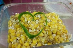 蛋黄焗玉米粒