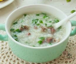 牛肝青菜粥