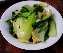 蒜香上海青