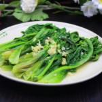 蒜蓉炒油麦菜