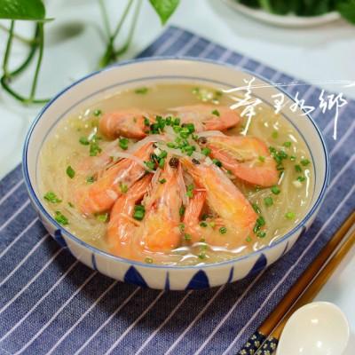 萝卜丝煮白虾