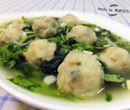 小白菜鱼圆汤