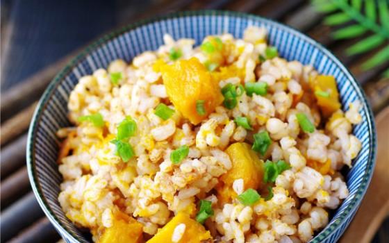 红粳米南瓜饭