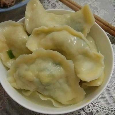 韭菜鸡蛋素饺