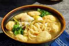 榨菜鱼丸汤面