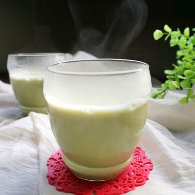 生菜绿豆豆浆