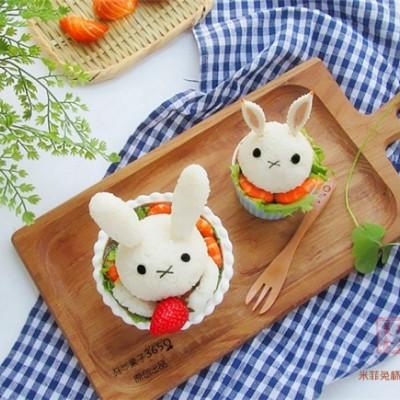 米菲兔杯子趣味餐