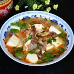 豆腐滚羊头汤