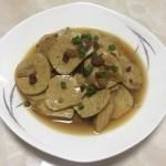 炒五香豆腐片