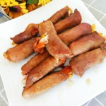 烤牛肉蔬菜卷
