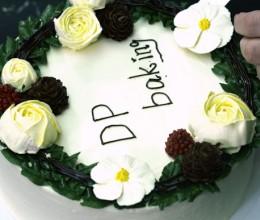 裱花磅蛋糕
