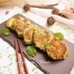 香煎西兰花虾饼