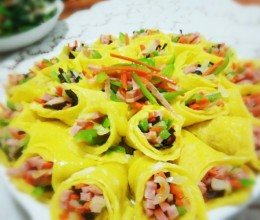 黄金蔬菜卷