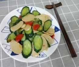 火腿肠炒黄瓜