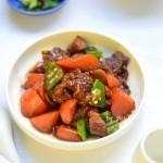 胡蘿卜燒牛腩
