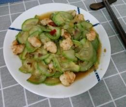 西葫芦炒虾仁