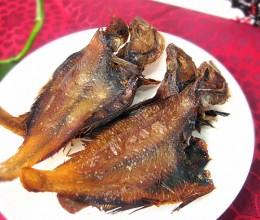 烤干偏口鱼