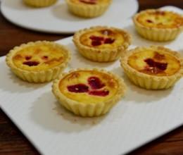 芒果火龙果蛋挞