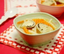 草菇胡萝卜笋丝汤
