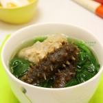 刺参菠菜猪骨汤