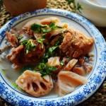 莲藕筒骨野米汤