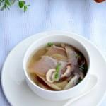 咸肉菌菇汤