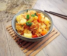 土豆怎么做好吃--香焖土豆炒饭
