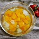 雪蛤木瓜湯