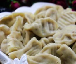 白菜猪肉虾仁水饺