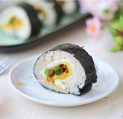 彩蔬寿司卷