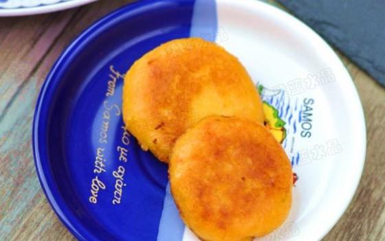 红薯糯米饼