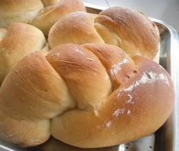 单根编花面包