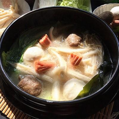 濃湯面疙瘩火鍋