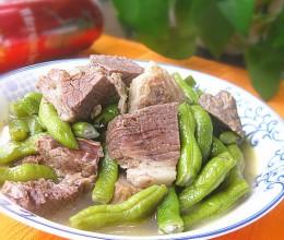 牛肉汤炖芸豆