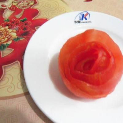 西红柿玫瑰花