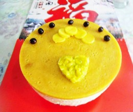 八吋芒果慕斯蛋糕