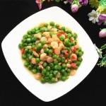 碗豆米炒虾仁