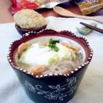 雞蛋蕎麥面湯