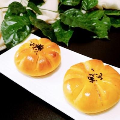 胡萝卜花朵面包