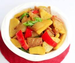 咸肉焖土豆