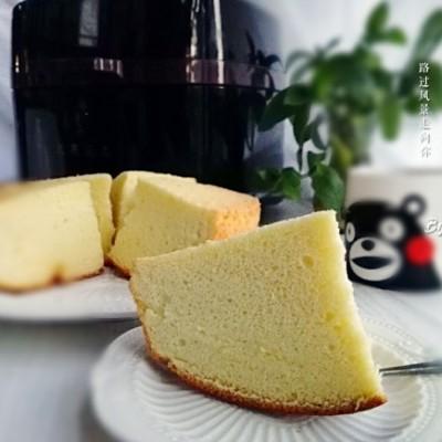 戚风蛋糕(空炸版)