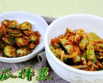 朝族黃瓜小拌菜