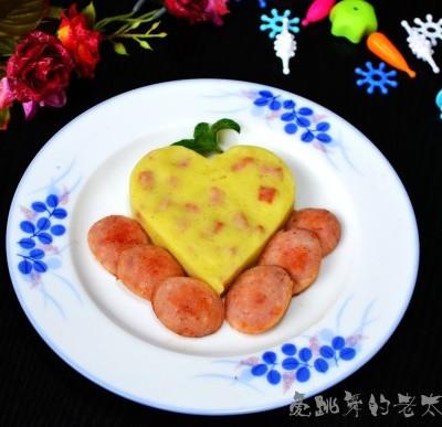 红肠土豆泥