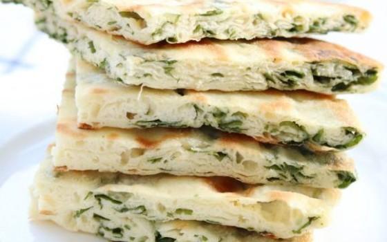 芹菜叶油饼