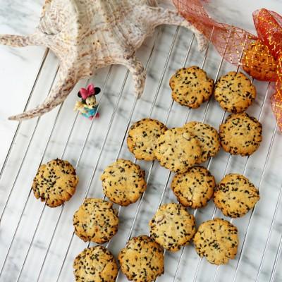 菠萝蜜核芝麻蜂蜜饼干