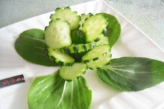 黄瓜花(摆盘盘饰)